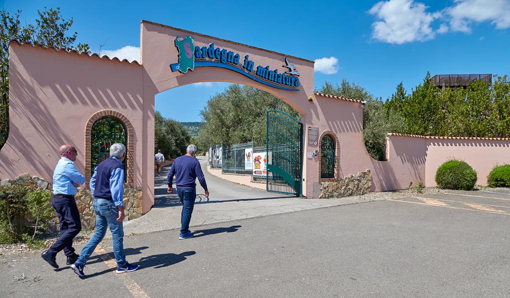ingresso parco